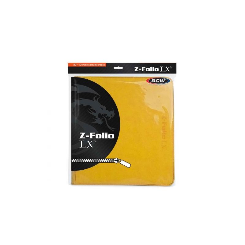 BCW GAMING Z-FOLIO 12-POCKET LX ALBUM