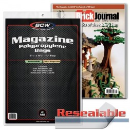 RESEALABLE MAGAZINE BAGS -...