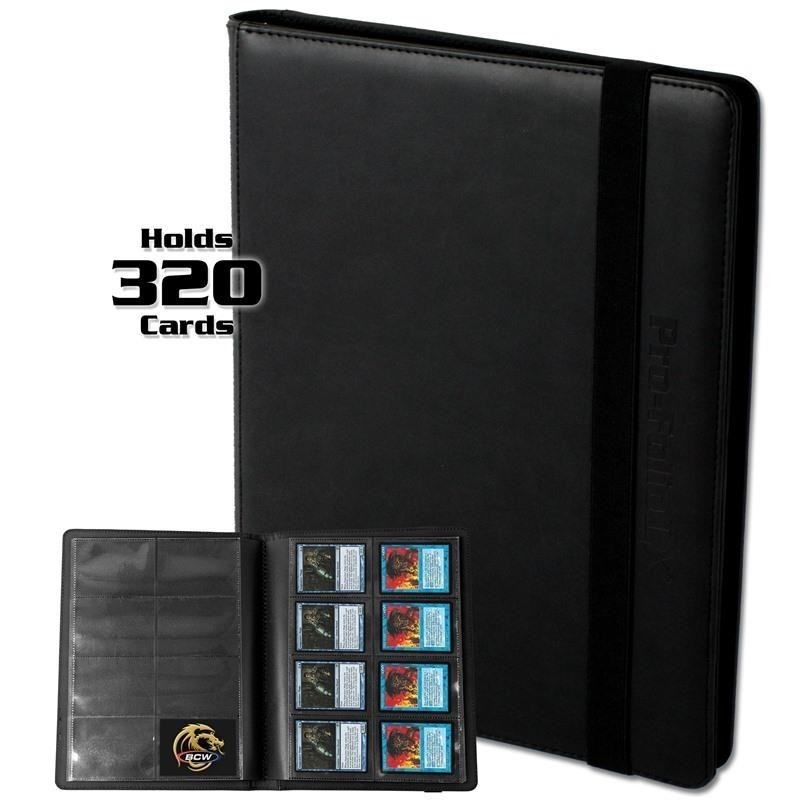 BCW GAMING PRO-FOLIO 8-POCKET LX ALBUM