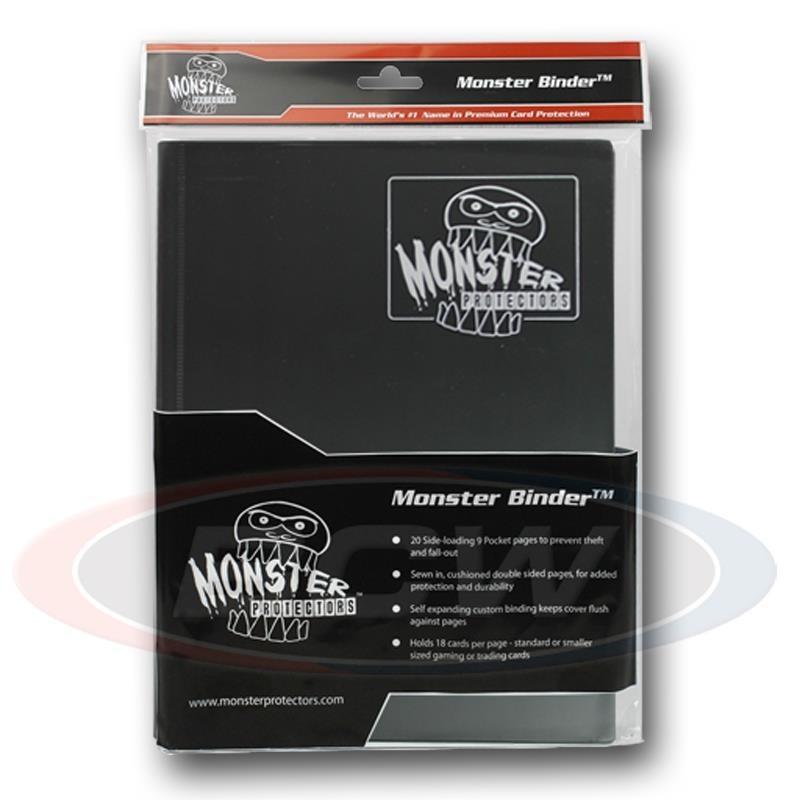 MONSTER PROTECTORS 9-POCKET