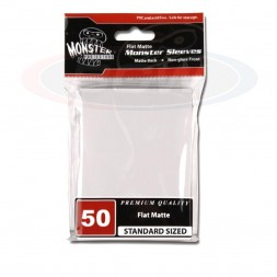 MONSTER PROTECTORS FLAT MATTE SLEEVES - LARGE