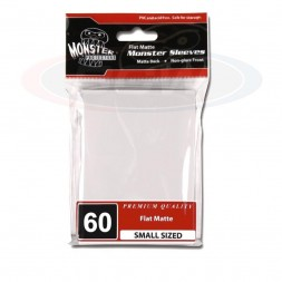 MONSTER PROTECTORS FLAT MATTE SLEEVES - SMALL