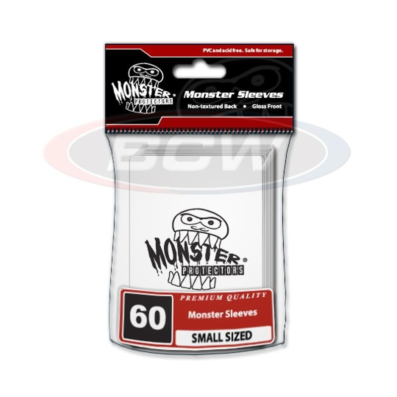 GLOSSY SLEEVES SMALL - MONSTER LOGO