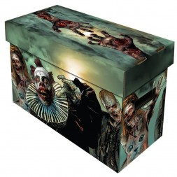 BCW SHORT COMIC BOX - ART - ZOMBIES