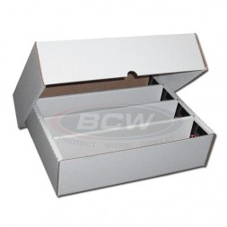 BCW 3200 COUNT STORAGE BOX (FULL LID)