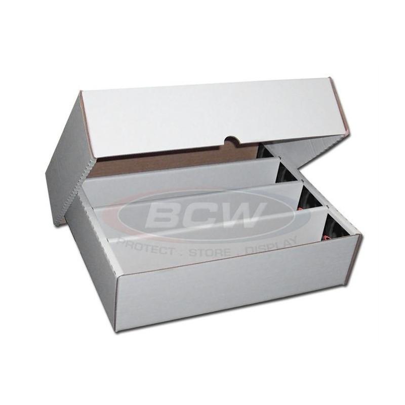 BCW 3200 COUNT STORAGE BOX (FULL LID)