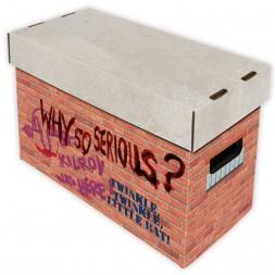 SHORT COMIC BOX - ART - BRICK