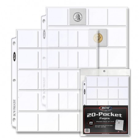 PRO 20-POCKET PAGE (20 CT. PACK)