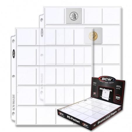 PRO 20-POCKET PAGE (100 CT. BOX)