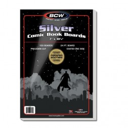 SILVER COMIC BACKING BOARDS
