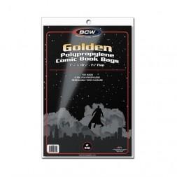 GOLDEN COMIC BAGS