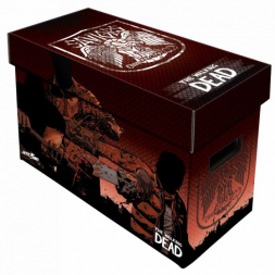 SHORT COMIC BOX - ART - THE WALKING DEAD - SAVIORS