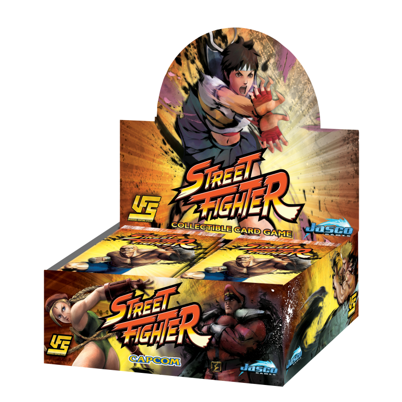 STREET FIGHTER BOOSTER DISPLAY