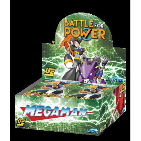 MEGA MAN: BATTLE FOR POWER BOOSTER DISPLAY