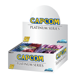 CAPCOM PLATINUM SERIES BOOSTER DISPLAY