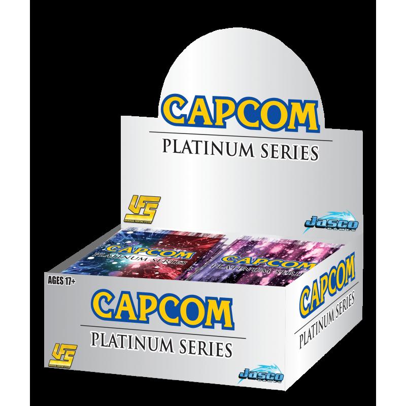 CAPCOM PLATINUM SERIES BOOSTER DISPLAY